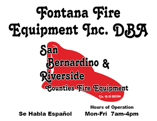 Fontana Fire Equipment
